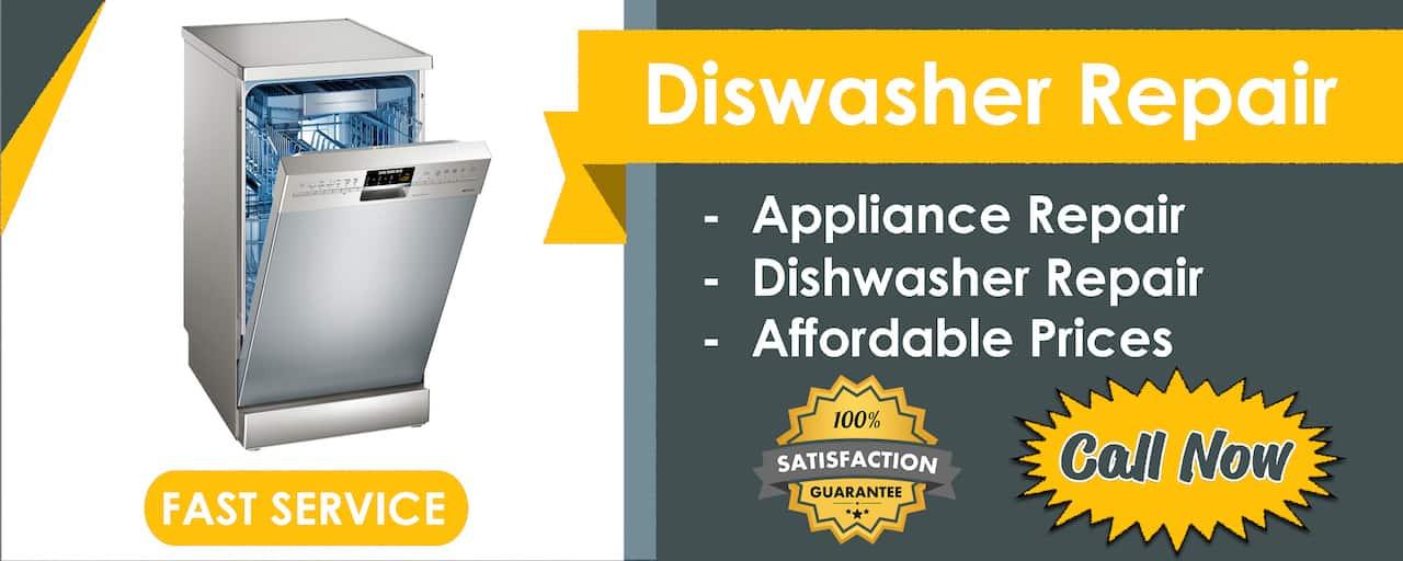 dishwasher repair banner